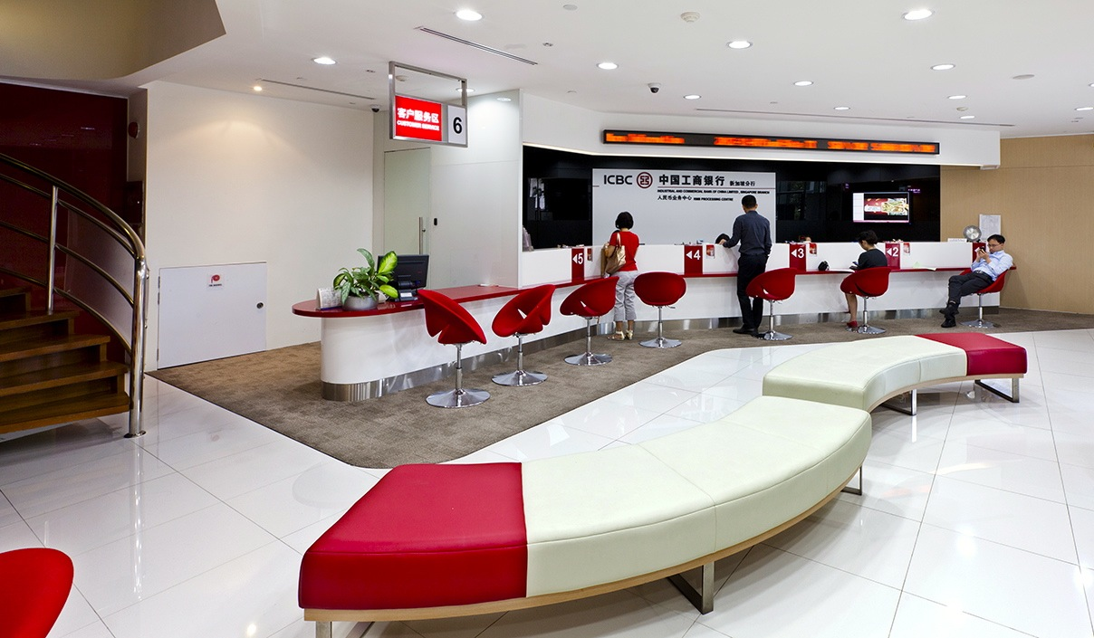 Icbc bank raffles quay design junction for Bank designs architecture